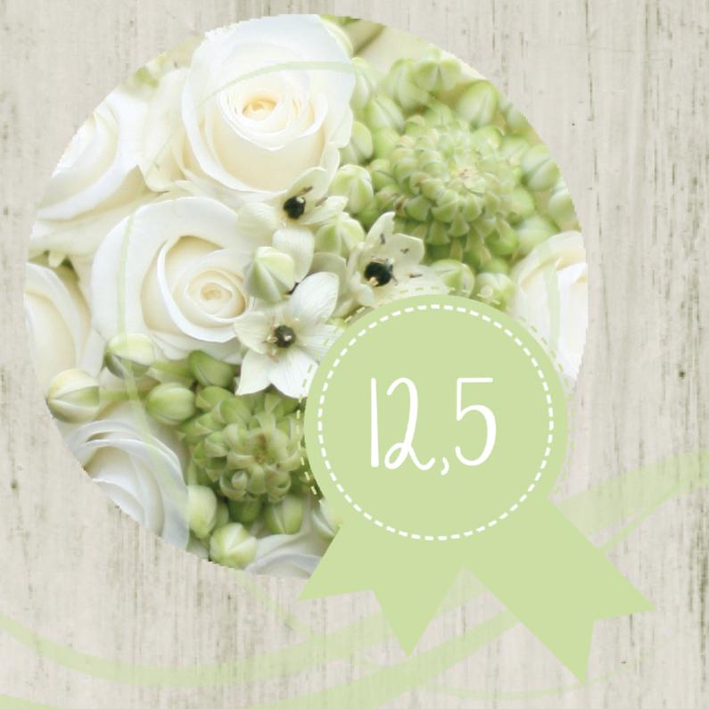 Jubileumkaart 12.5 roos 1