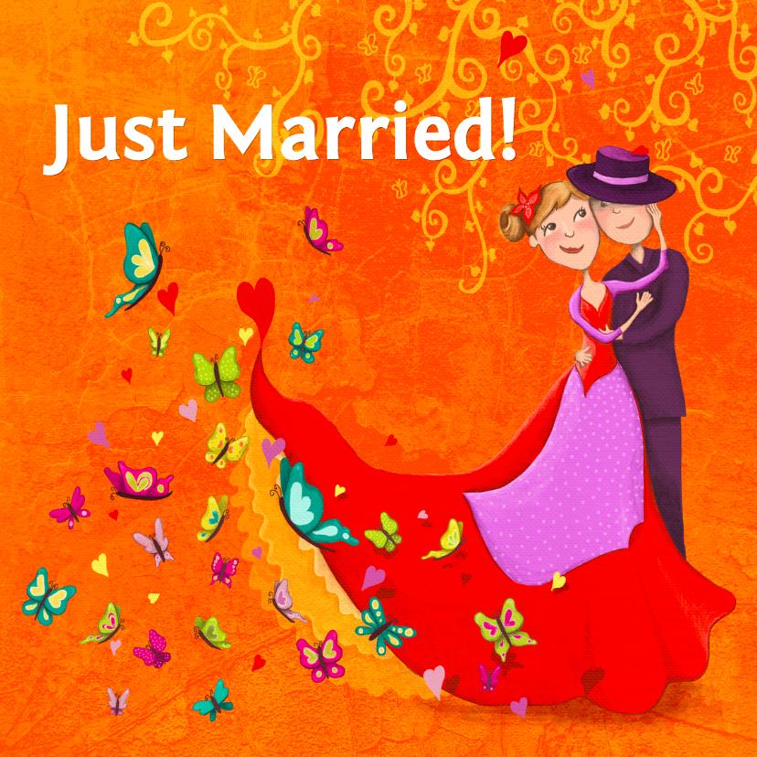 Just Married Liefde 01 1