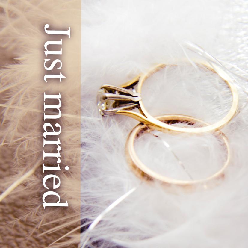 Just married rings 1