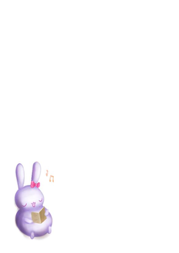 Kerst - Chubby bunnies bij raam 2