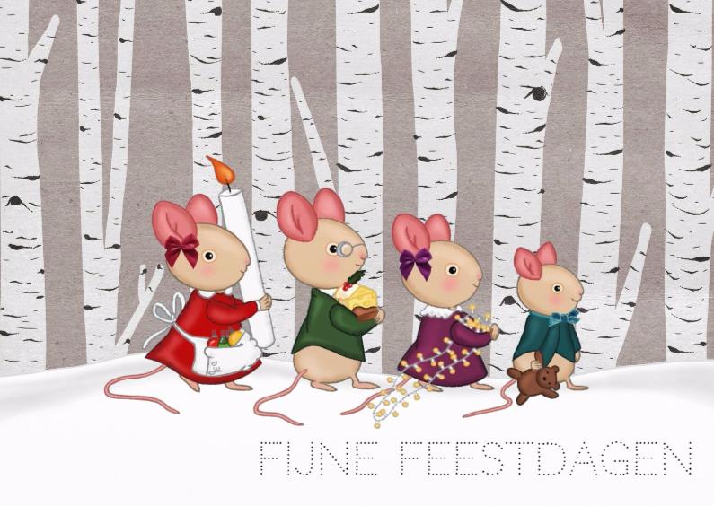 Kerst Familie Muis - TbJ 1