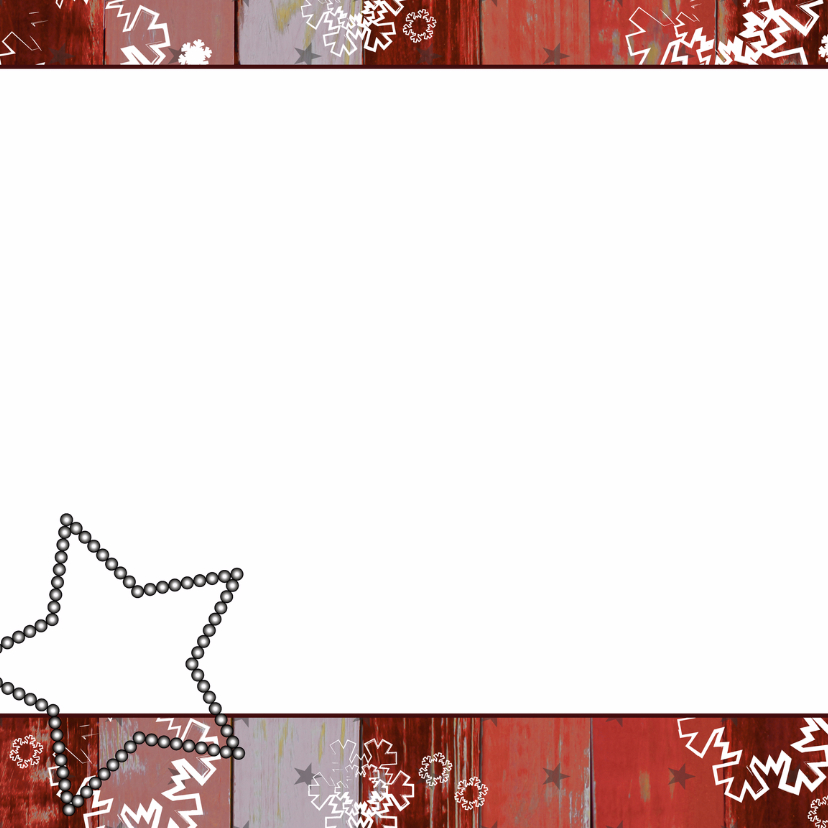 Kerst foto rood krijtbord boom V 2