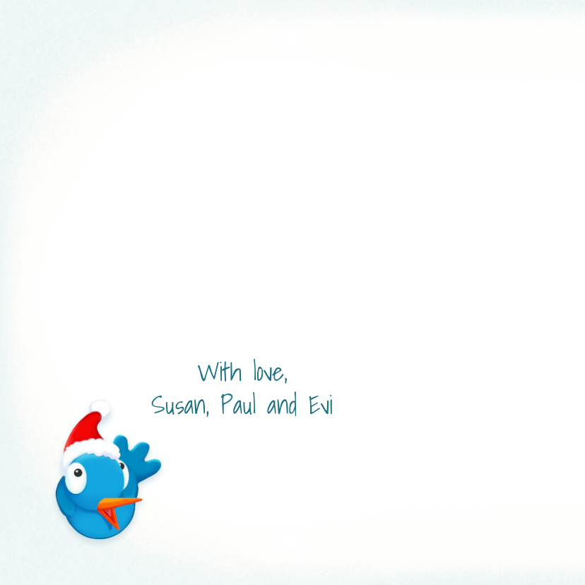 Kerst Happy Snowman 2