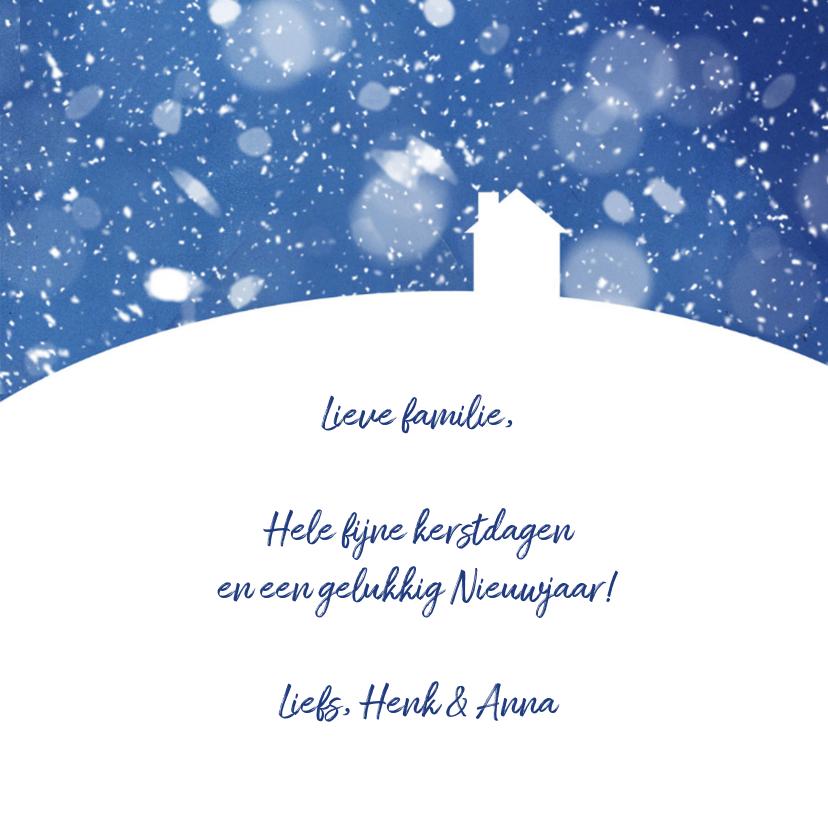 Kerst - Huis in de sneeuw 2 3