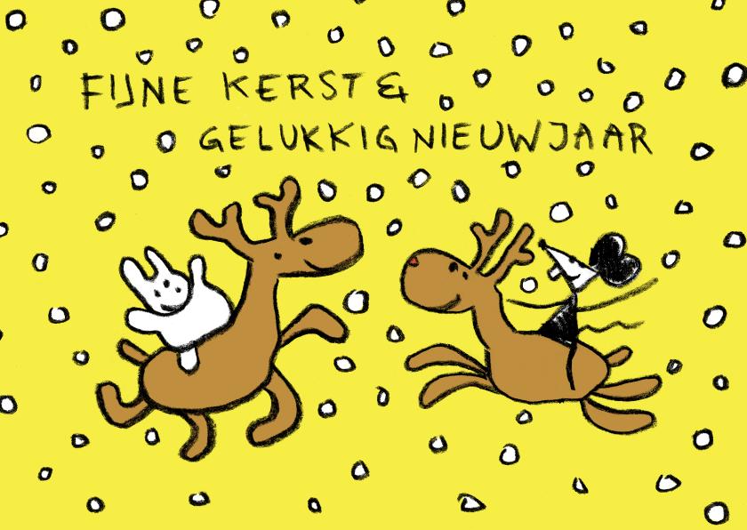 Kerst Joep & Hop en rendieren 1
