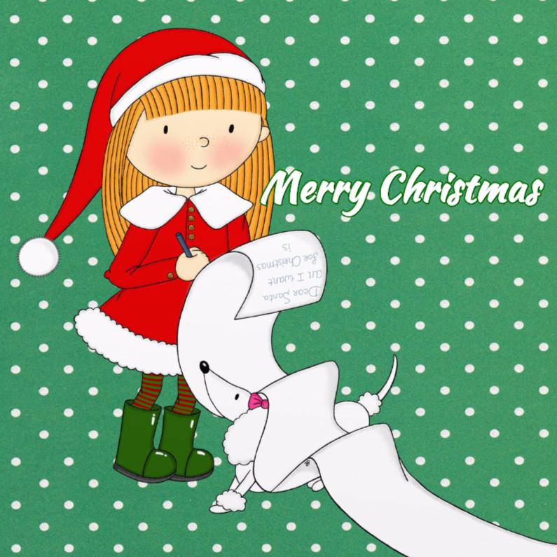Kerst Kersthulpje hondje - TbJ 1