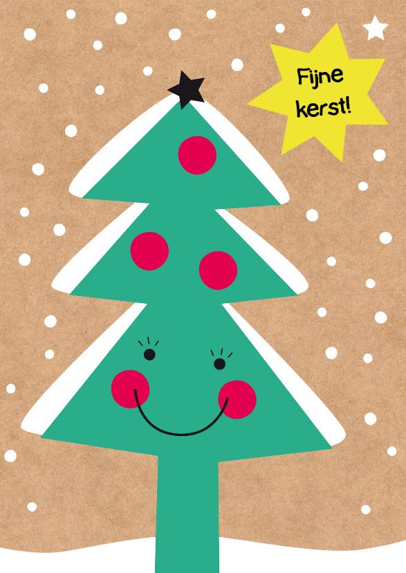Kerst-Kind-Lachende Kerstboom-HK 1