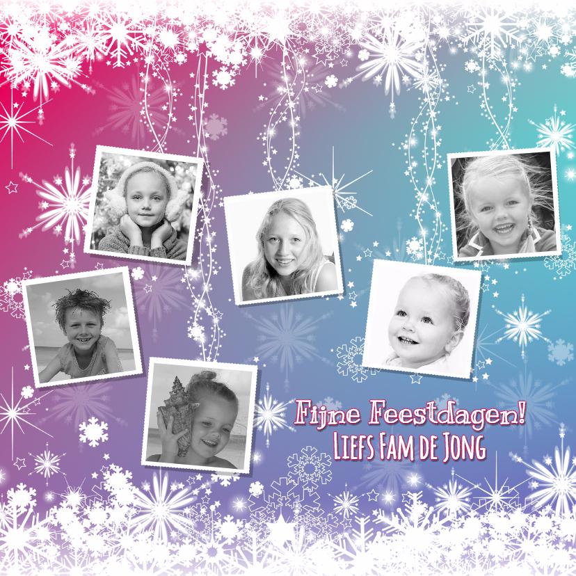 kerst kleurrijke fotokaart 1