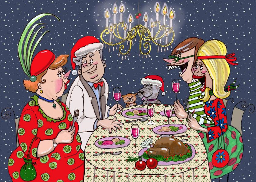 Kerstdiner kroonluchter 1