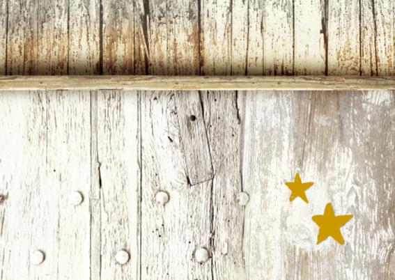 Kerstkaart Be Merry Hout 2 - SG 2