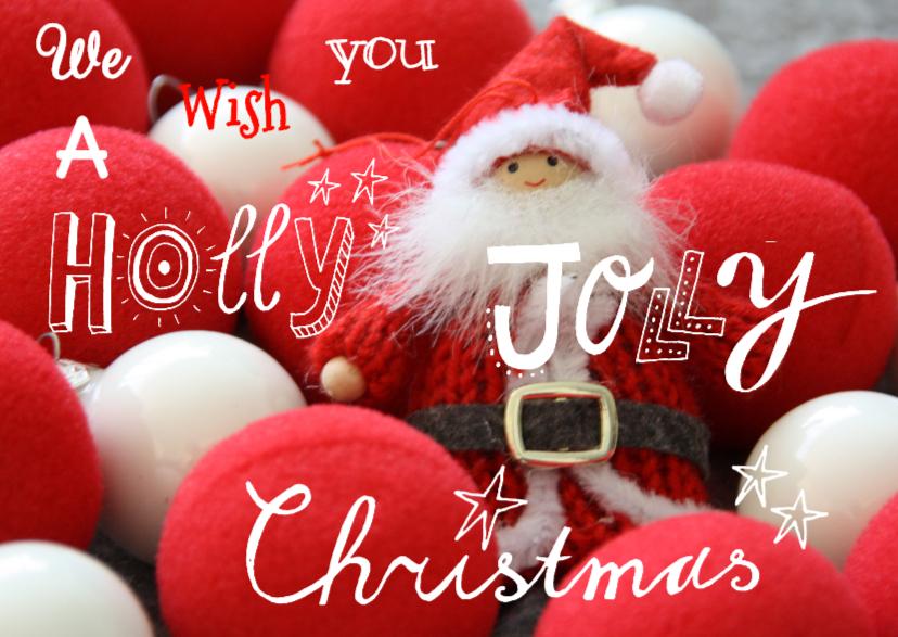 Kerstkaart CliniClowns Kerstman 1