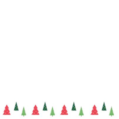 Kerstkaart Kerstboom Roodpaars 2
