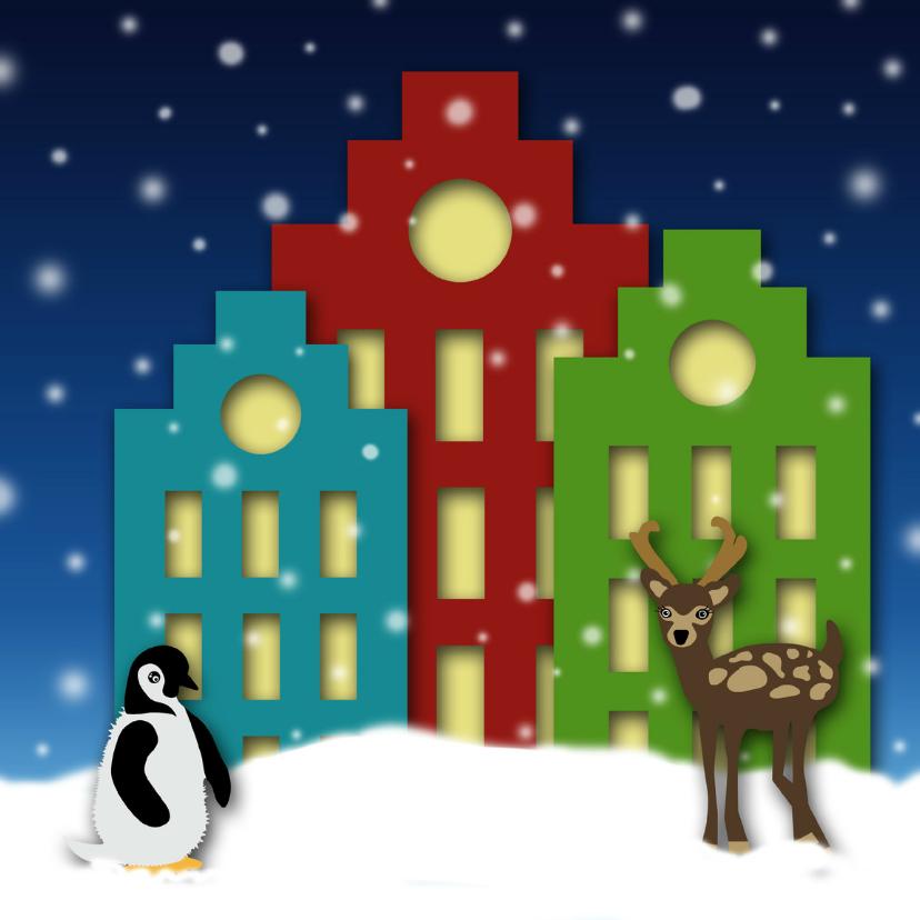Kerstkaart pakhuizen nacht-HR 1