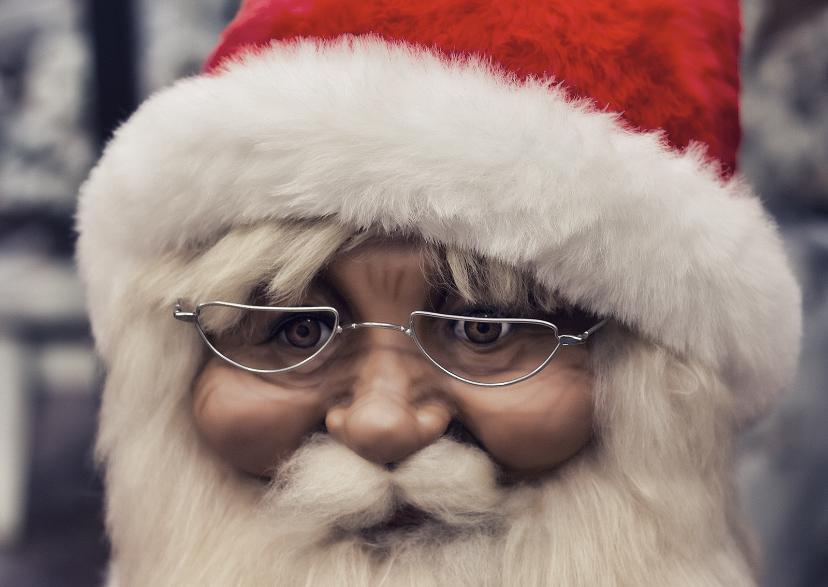 kerstkaart Santa 1