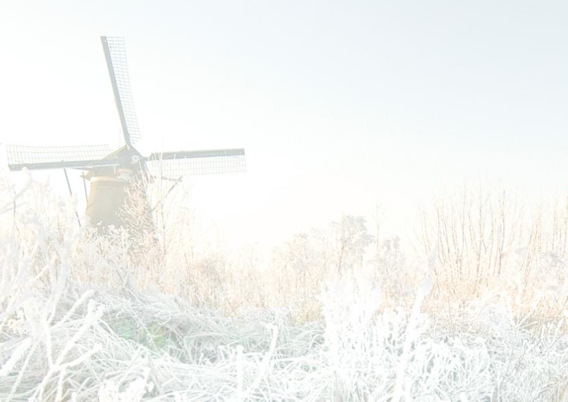 Kerstkaart Wintersfeer 2