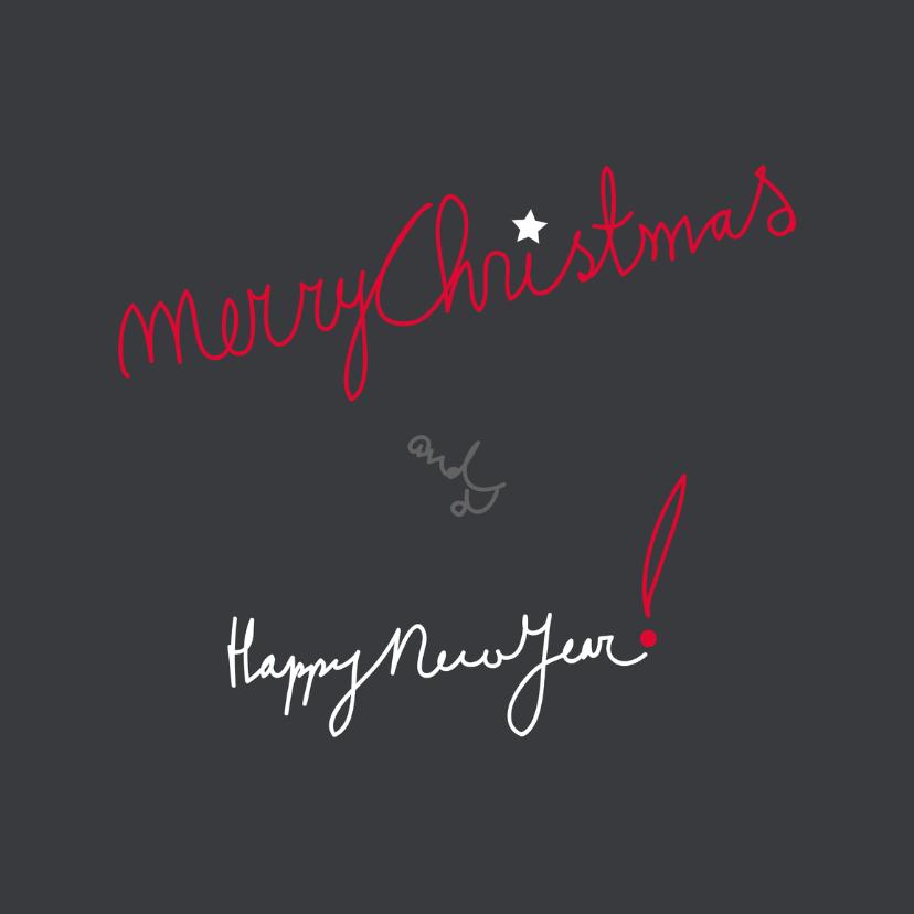 Kerstkaarten Geschreven YO 1