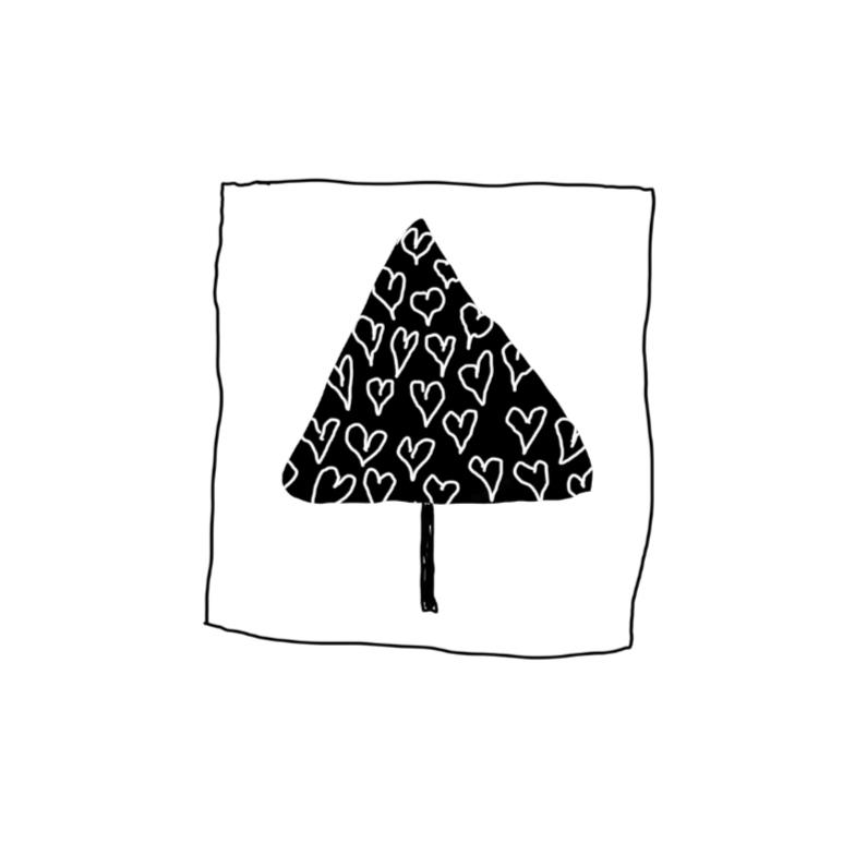 Kerstkaarten  Hartenboom  Y 1