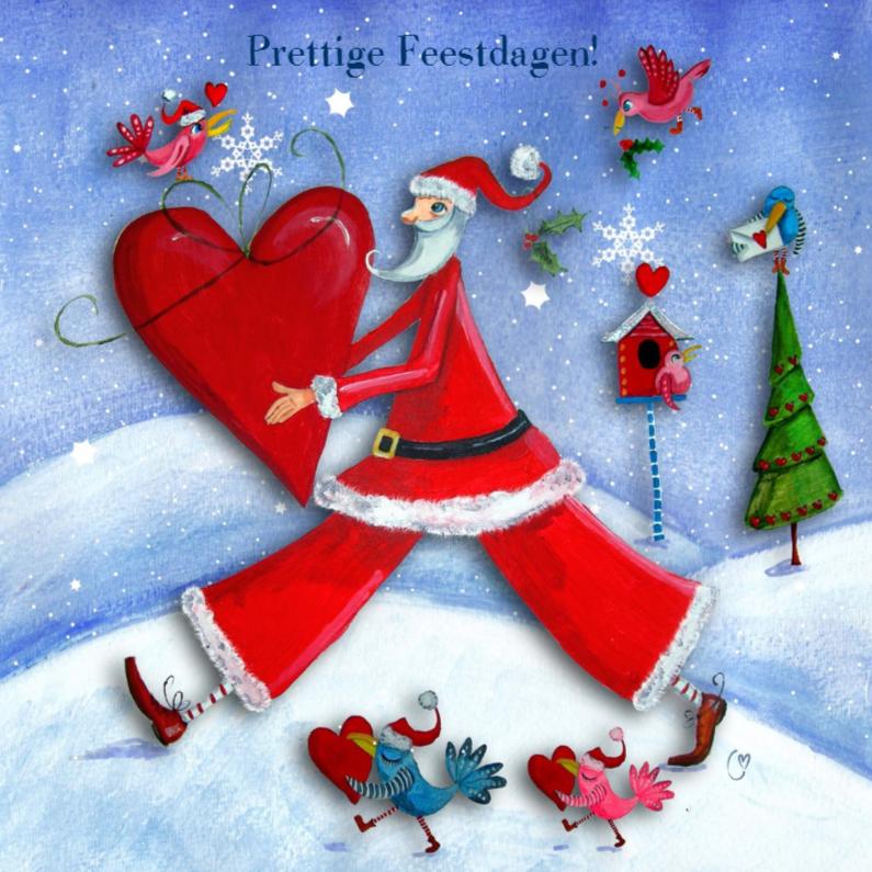 Kerstman en Hartje by Cartita Design 1