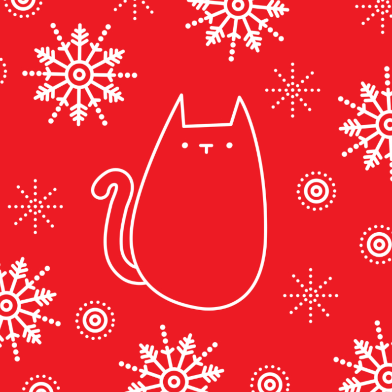 Kerstmis Rode Kat 1