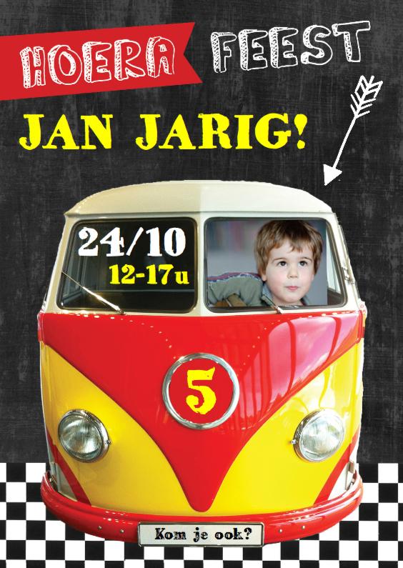 Kinderfeestje autobusje Jan 1