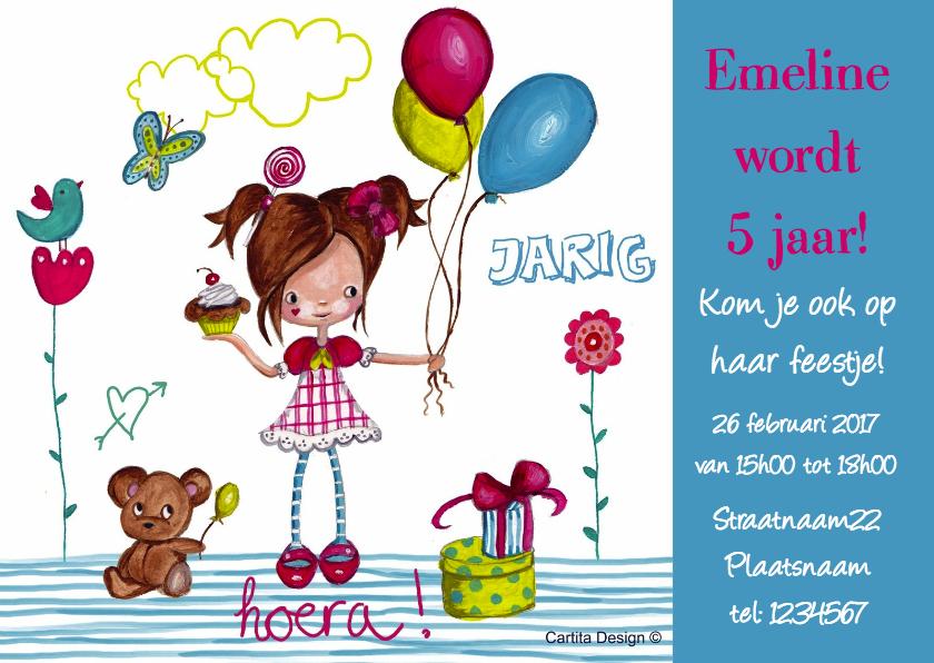 Kinderfeestje Ballonnen Cartita Design 1
