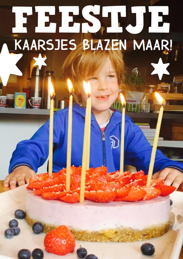 Kinderfeestje foto jongen 1