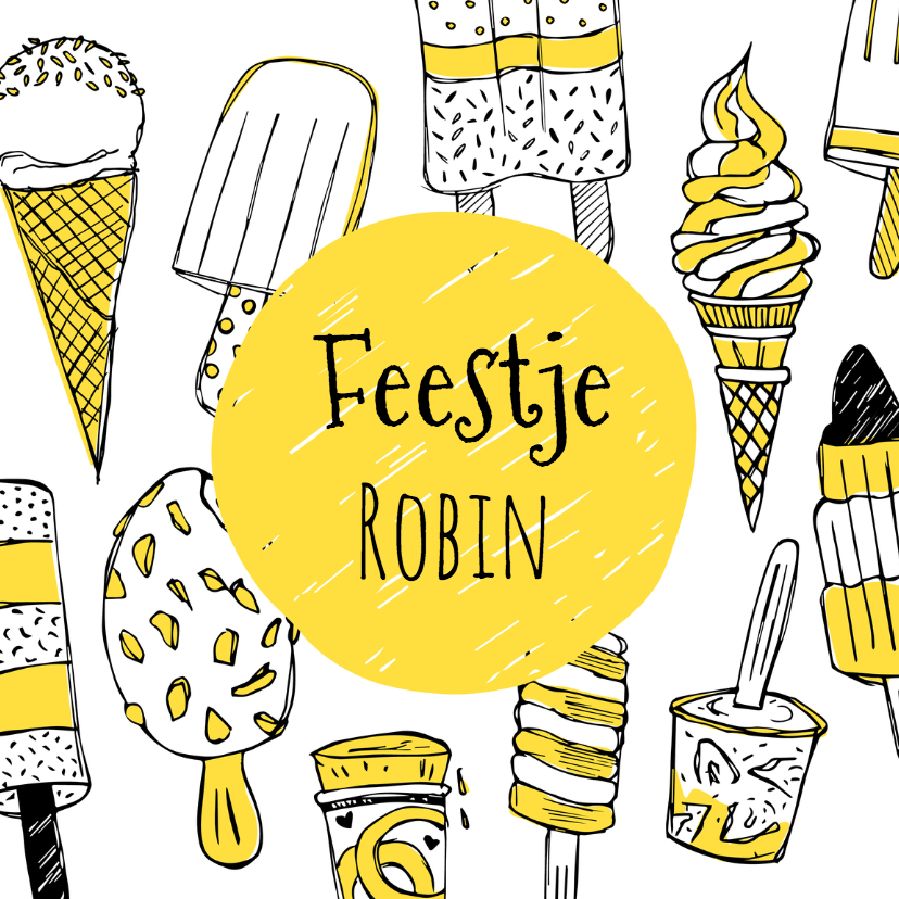 Kinderfeestje ijsjes 1