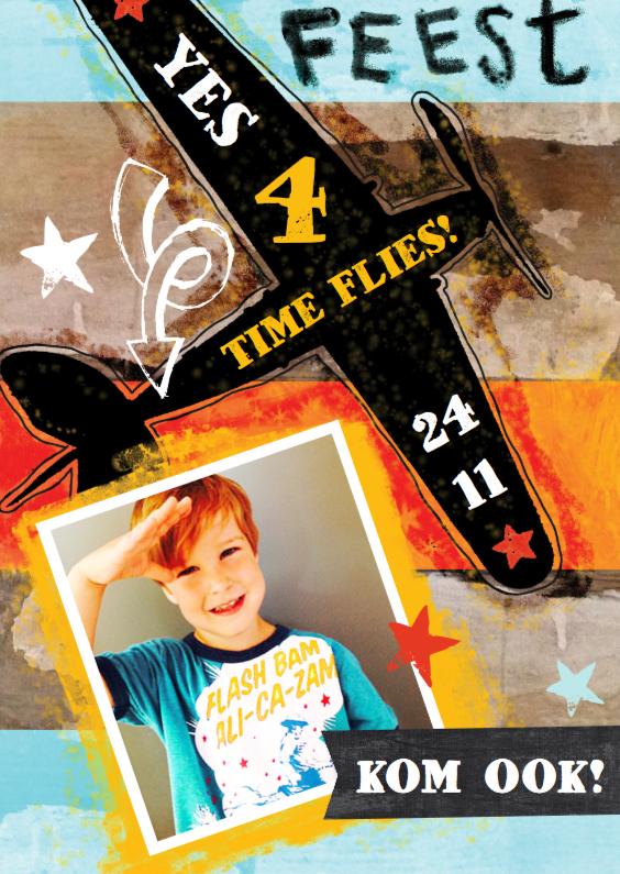 Kinderfeestje jongen foto ster 1