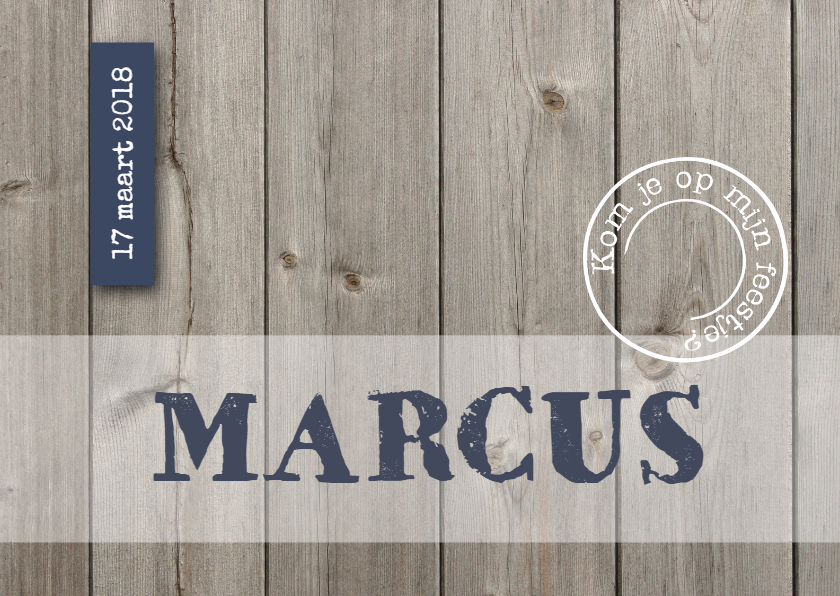 Kinderfeestje Marcus 1