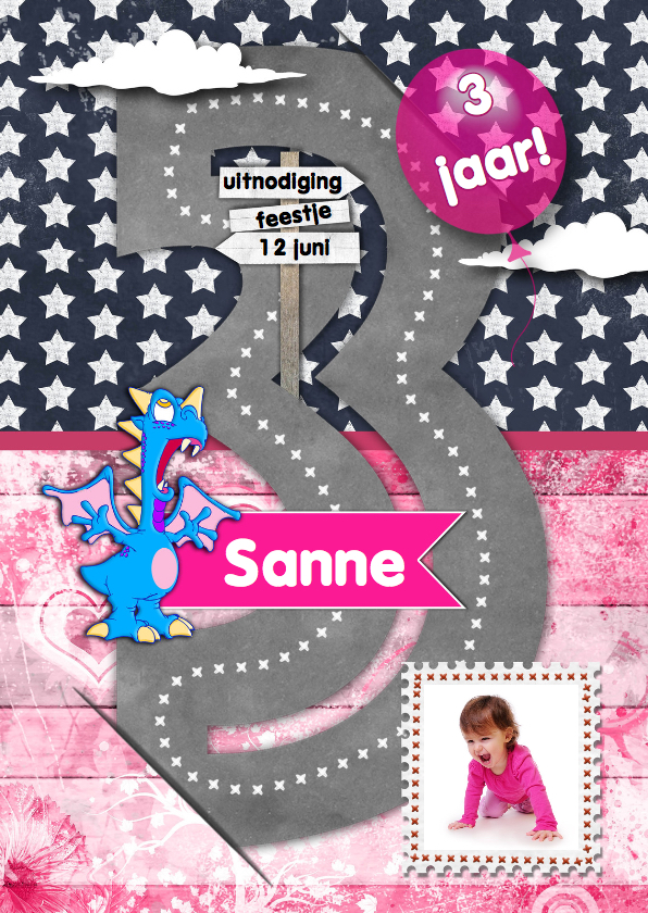Kinderfeestje meisje 3 jaar RB 1