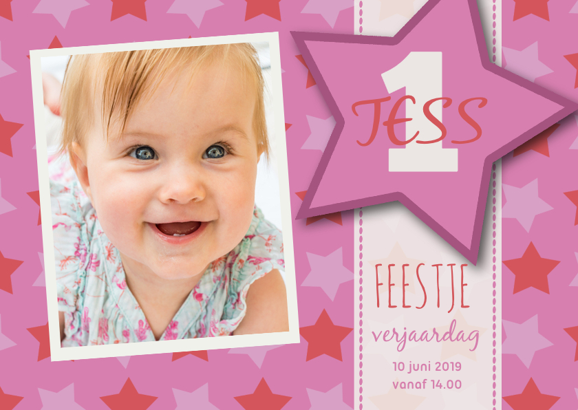 Kinderfeestje Tess ster 1