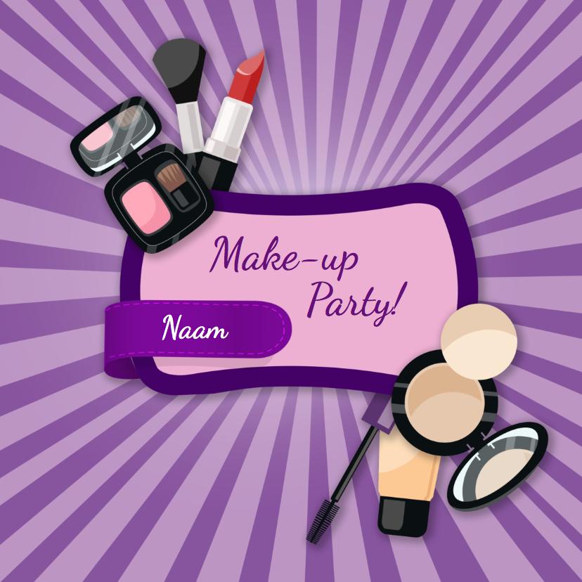 Kinderfeestjes Make-up party 1