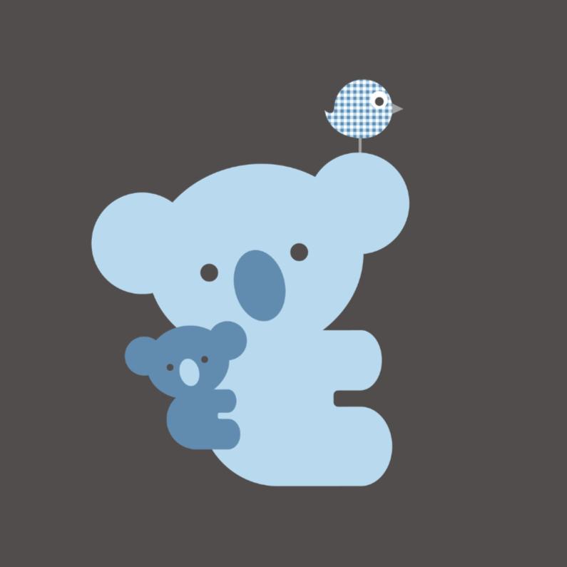 Koala blauw 1
