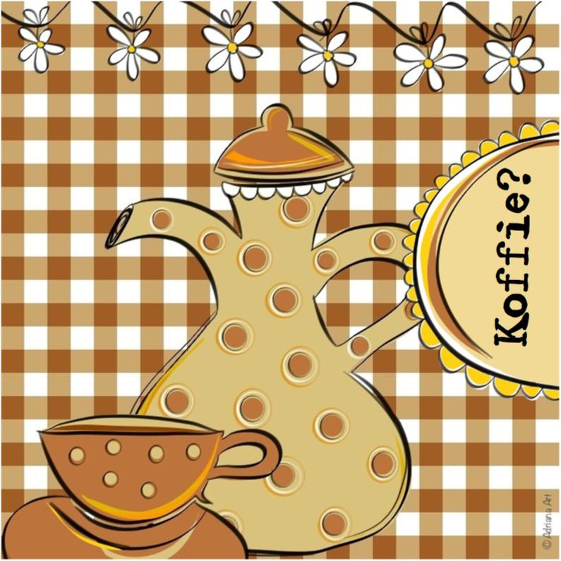 Koffie ruitjes 1