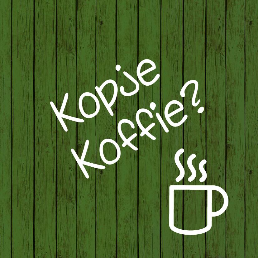 Koffie zomaarkaart -JH 1