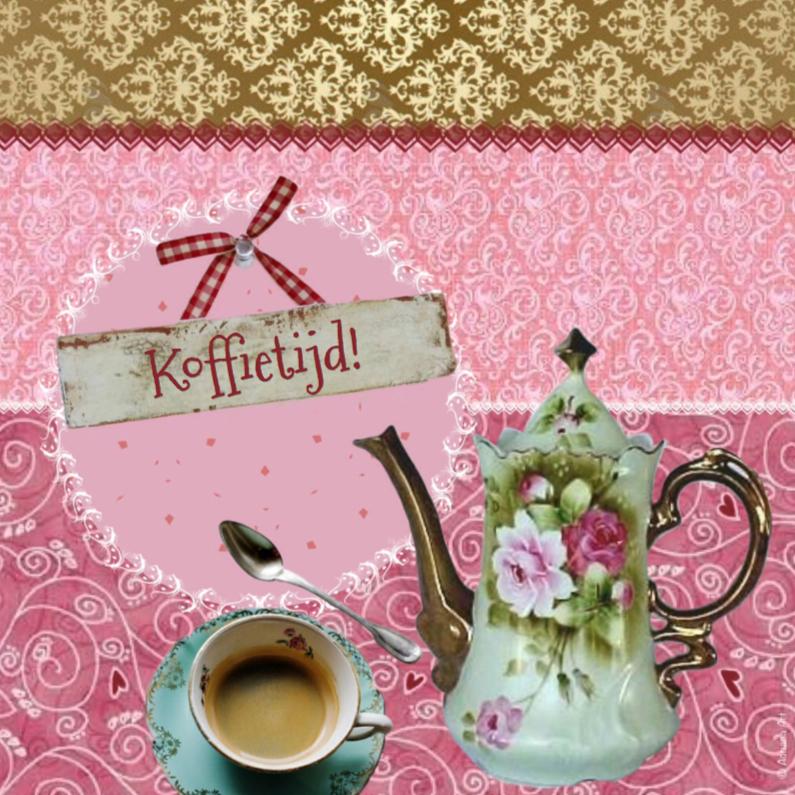 Koffietijd mixed media 1