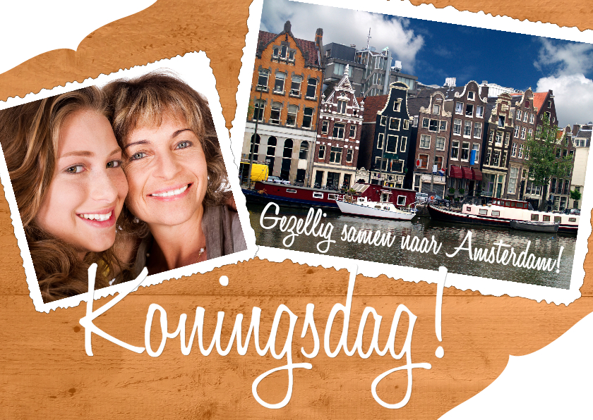 Koningsdag! Amsterdam - BK 1