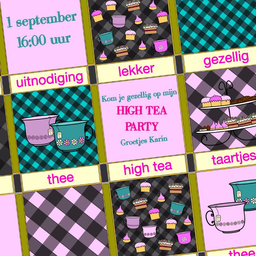 Leesplank High Tea uitnodiging 1