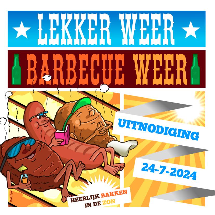 Lekker weer barbecue weer 1