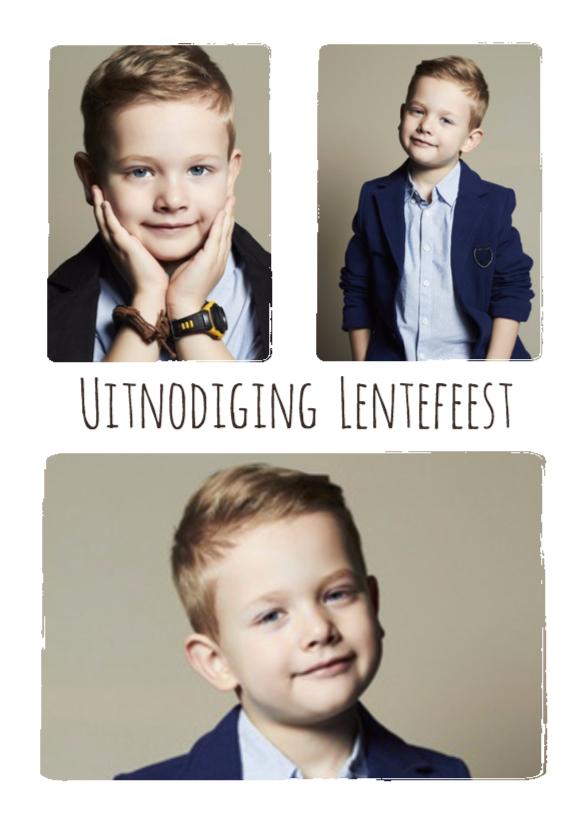 Lentefeest collage 3 foto's - BK 1