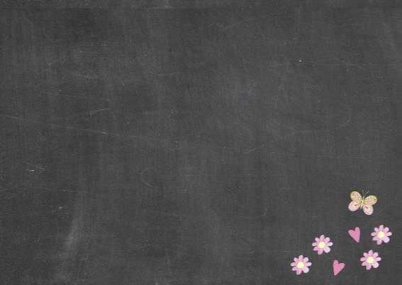 lentefeest meisje schoolbord 3