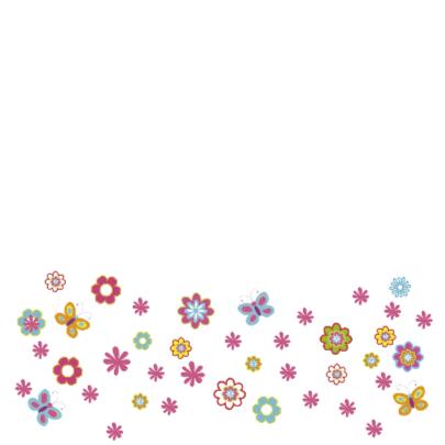 lentefeestje cirkel bloemen 2