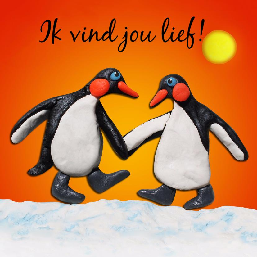 Liefde, verliefde pinguïns - AZ