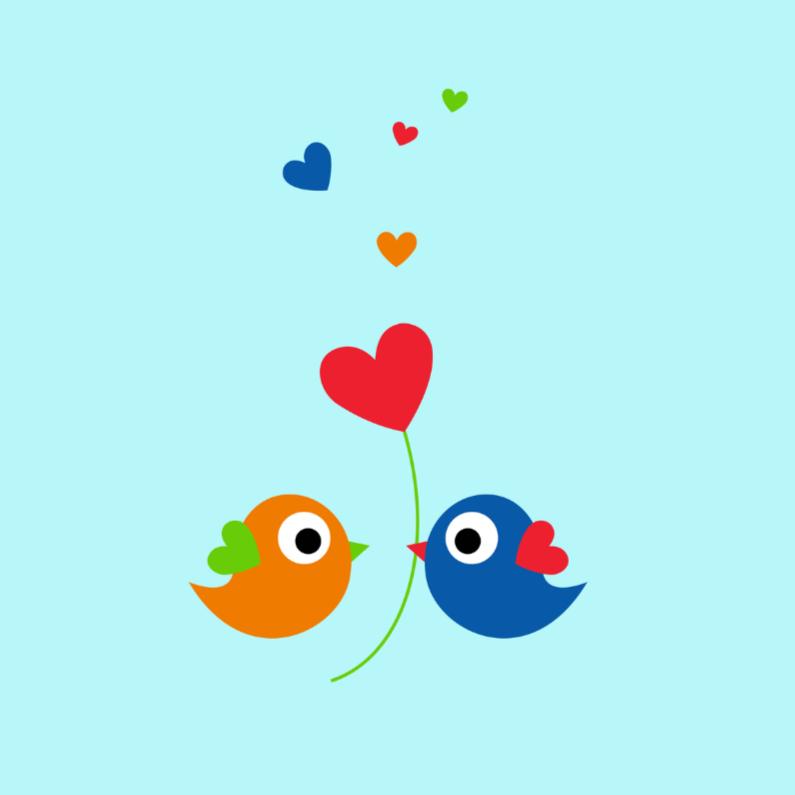 Lieve kleurige vogeltjes 1