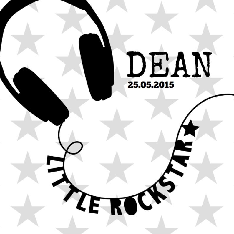 Little Rockstar Black&White 1