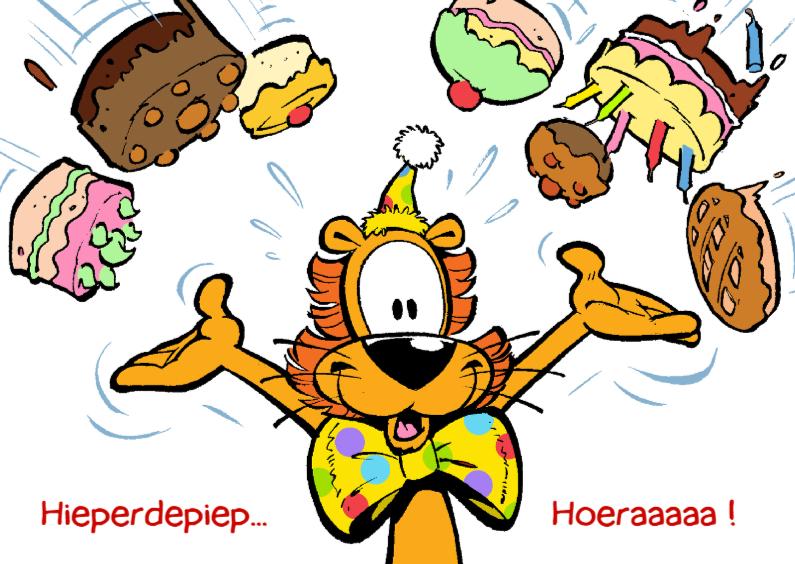 Loeki de leeuw taarten regen 1