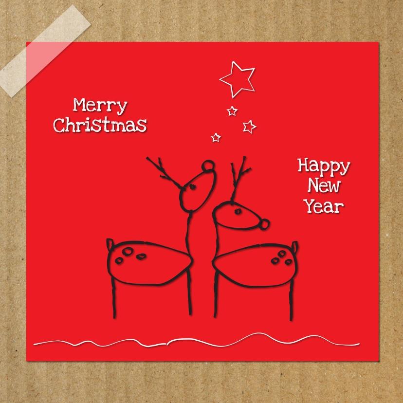 Merry Christmas hertjes 1