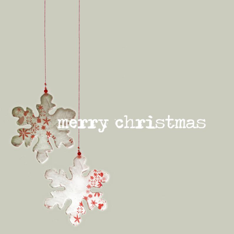 Merry christmas met hangers 1