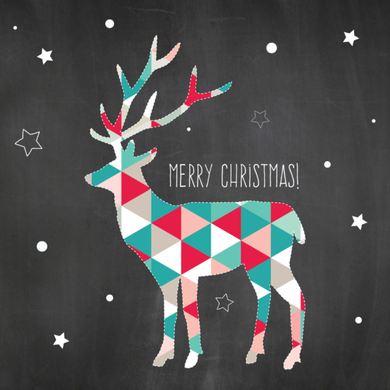 Merry Christmas - Reindeer 1