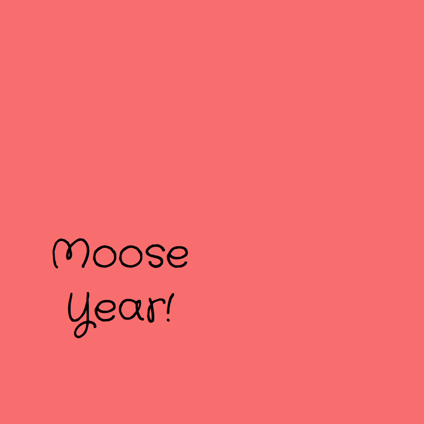 Mo Cards humor kerst moose 3